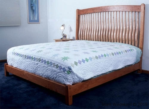 Shaped Slat Bed