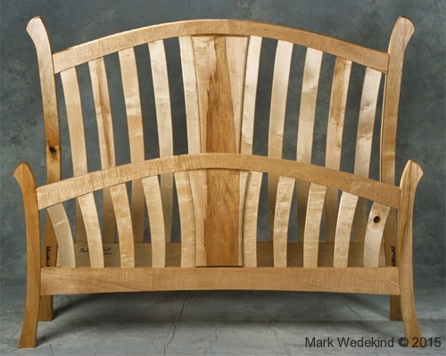 Maple Slat Bed