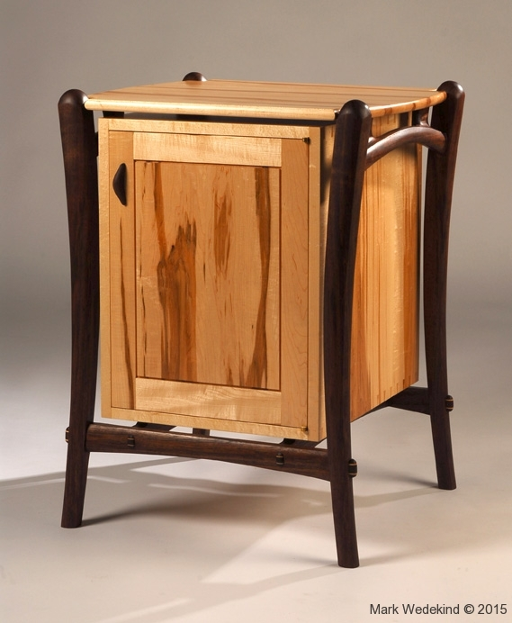 Sculpture stand cabinet