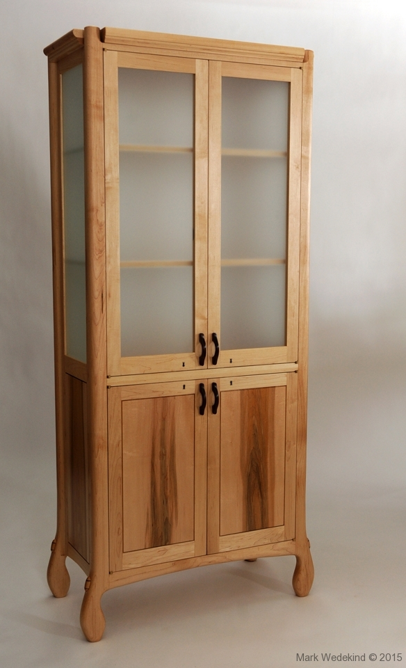 Maple display case