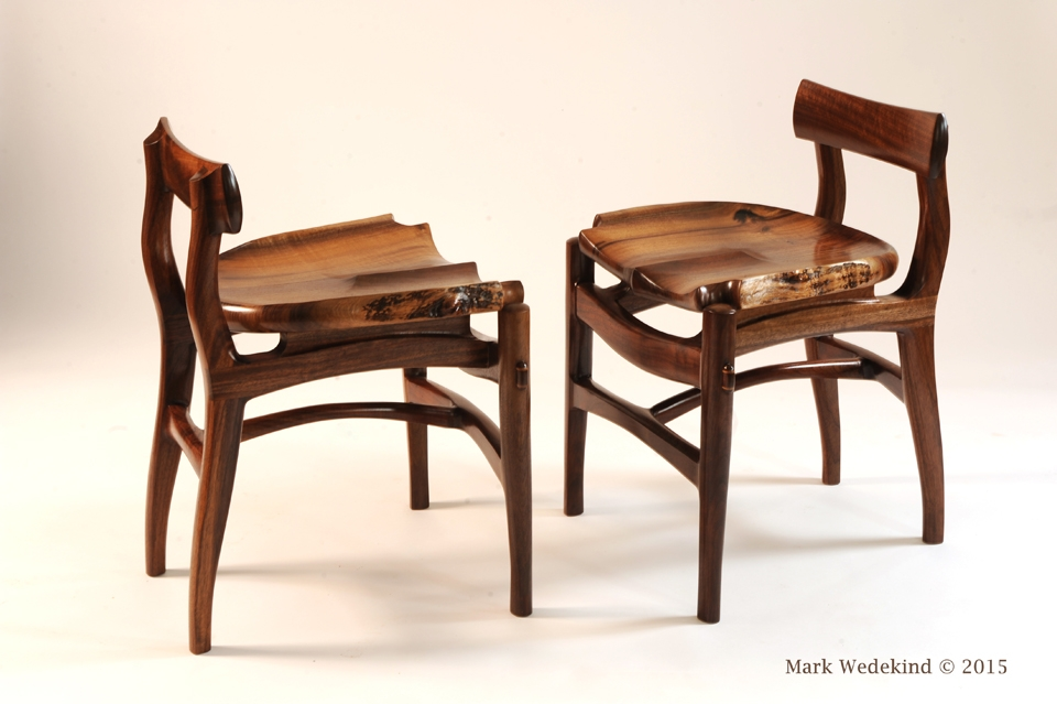 Short back dining chairs
